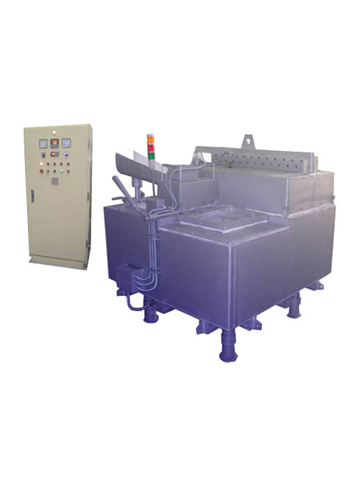 Aluminum Holding Furnace Cap 800 kg ( HF-800 )
