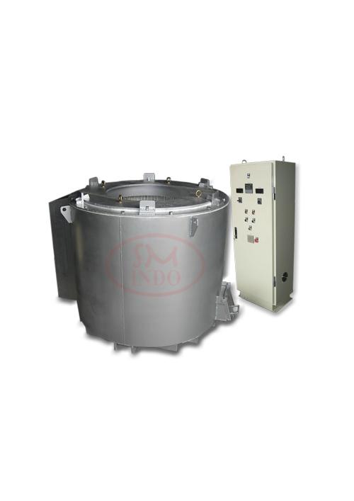 Crucible Aluminum Holding Furnace  Capacity 500kg ( CAHF-500 )