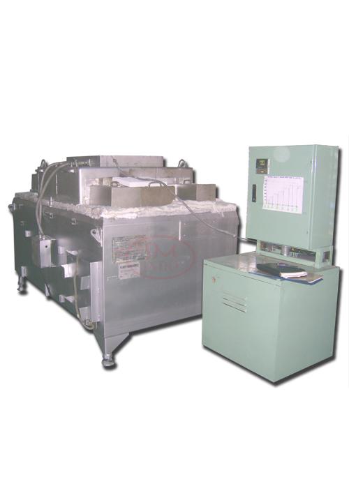 Alluminum Holding Furnace Cap 800 kg ( HF-800A )