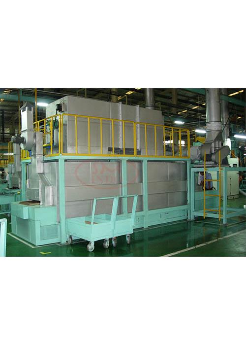 Custom Belt Stress Relieving Conveyor Oven ( CB-SRC0-02 )