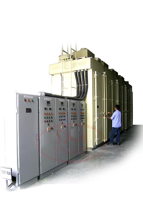 Large Multi Chamber Walk In Drum Oven  ( LPM-WIDO )