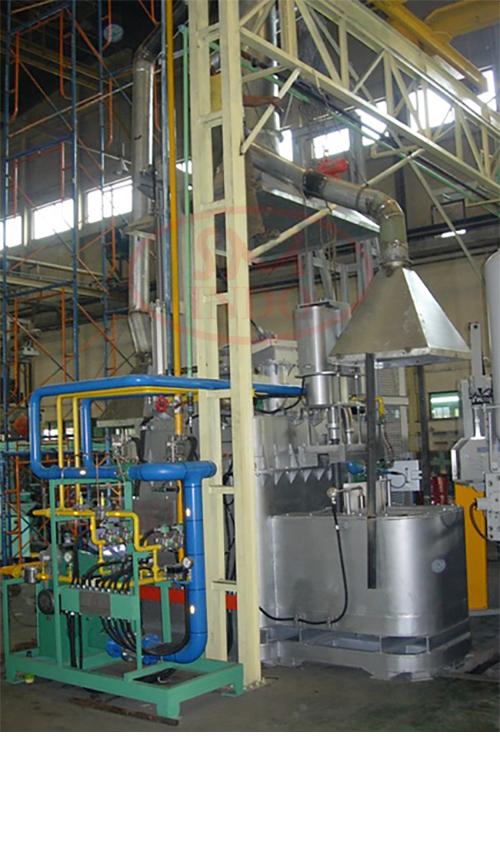 Al Continuous Melting Furnace 200-500 kgs ( ACMF-200-500 )
