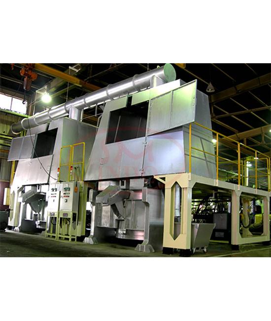 Gas Burner Hydraulic Tilting Melting Furnace 500 kg ( GB-HTMF-500 )