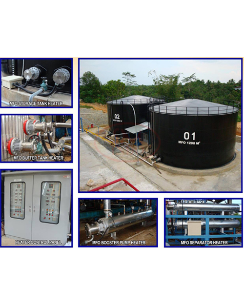 MFO Heating System for Power Plant ( MHS-PP-01 )