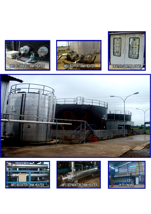 MFO Heating System for Power Plant ( MHS-PP-02 )