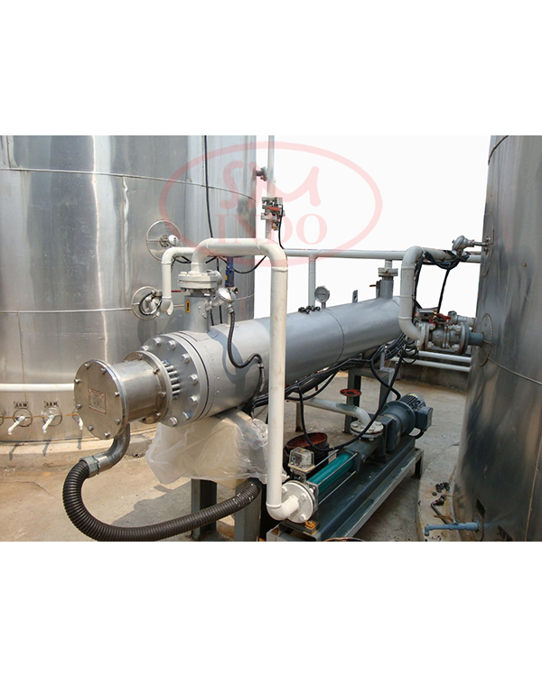 Waste Oil Treatment Heater  ( WOTH )