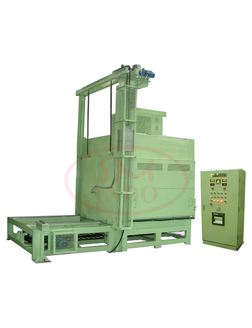 Vertical Lift Door Oven with Auto Sliding Table Conveyor and One Touch Operation System ( VLDO-ASTC-OT )